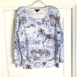 NWOT H by Halston scoop neck sweater size M